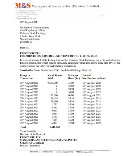 PRINTCARE  PLC (CARE.N0000) Care11