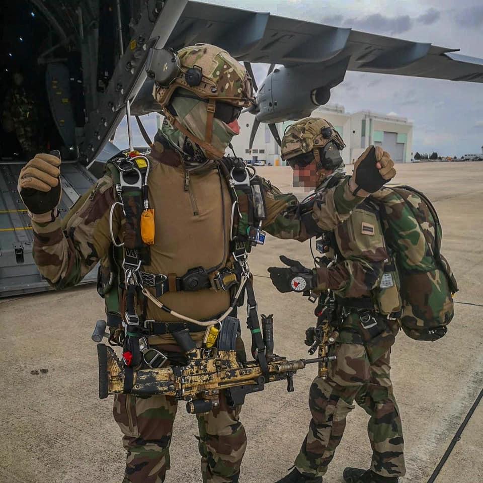 Le G.C.P. fer de lance de la 11ème Brigade Parachutiste 10936311