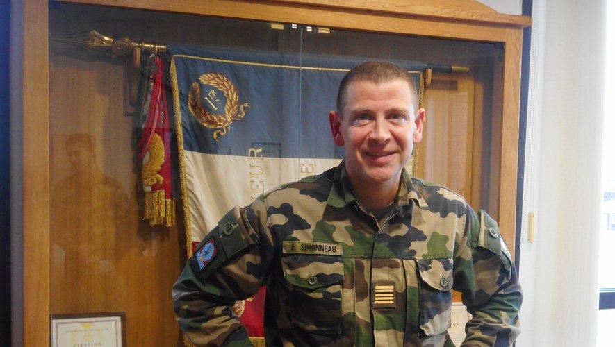 Pamiers: colonel SIMONNEAU : le taux d'activité du régiment reste élevé  Image_11