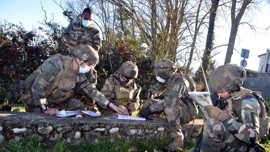 Des sections de combat du 1er RCP à l'épreuve des tests Image_16