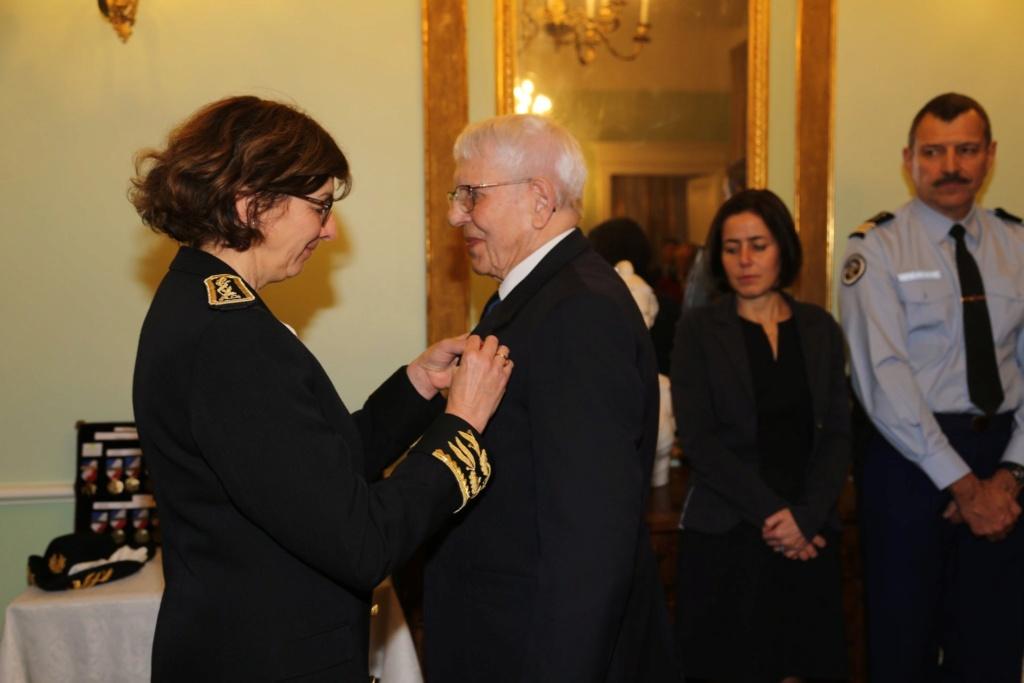 Un membre de l'UNP section 090 Ariège Roger Cathala Promu chevalier de la LH Marcel10