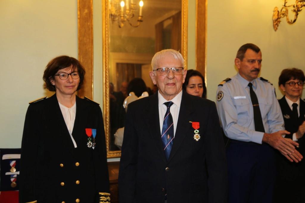 Un membre de l'UNP section 090 Ariège Roger Cathala Promu chevalier de la LH Marcel11