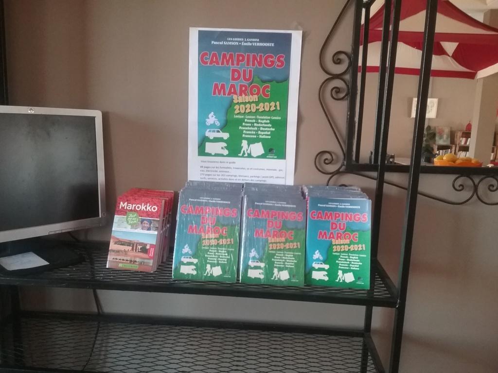 [Les GUIDES du Maroc] Guide des campings disponible au camping Takat 20191010