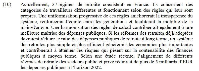 """Le vrai-faux """"retrait"""" de l'âge pivot Commis10"""
