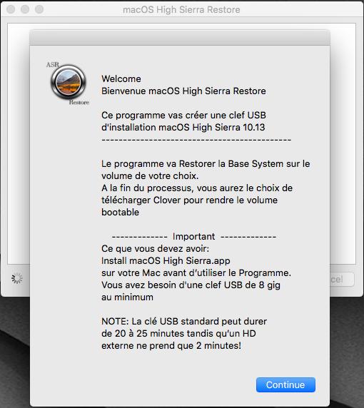 macOS High Sierra Restore 118