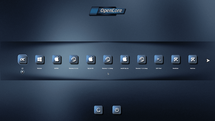 Themes Modern et Default OpenCore-0.6.6 + + + - Page 5 14121010