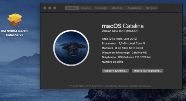 macOS Catalina 10.15 Developper Beta - Page 3 16964010