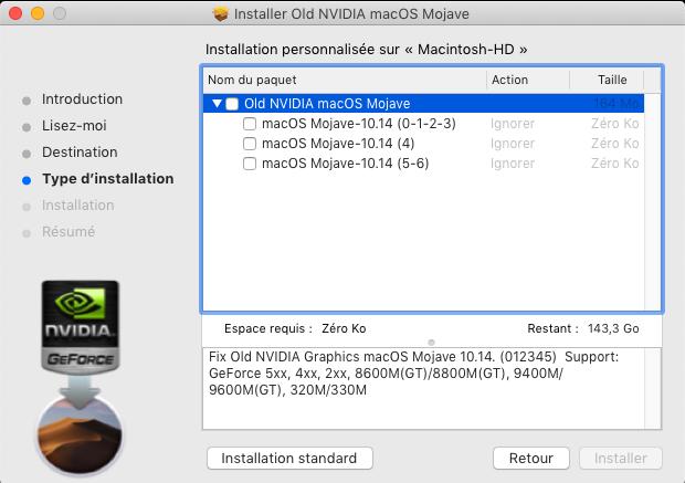 Fix Old NVIDIA macOS Mojave 412