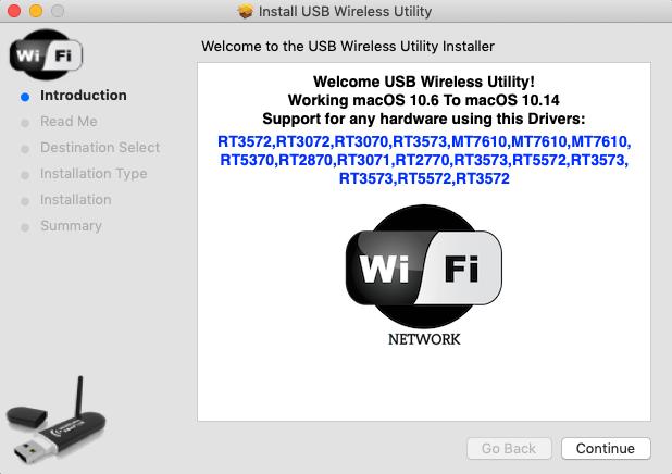 USB Wireless Utility 68747416