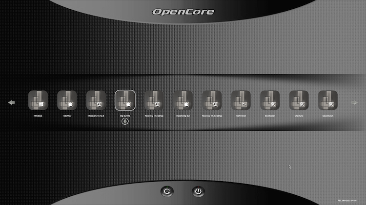 Themes Modern et Default OpenCore-0.6.6 + + + - Page 5 Boot13