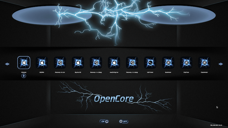Themes Modern et Default OpenCore-0.6.6 + + + - Page 5 Boot21