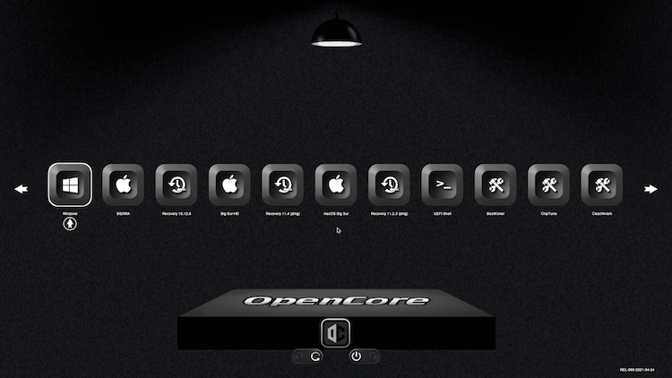 Themes Modern et Default OpenCore-0.6.6 + + + - Page 5 Boot_c11
