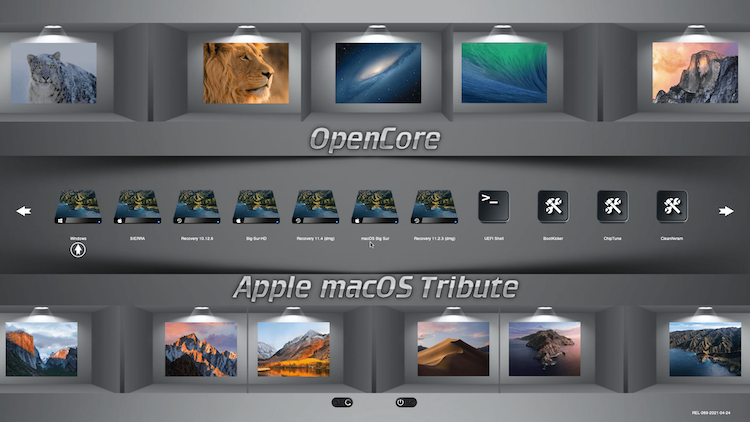 Themes Modern et Default OpenCore-0.6.6 + + + - Page 5 Boot_c12