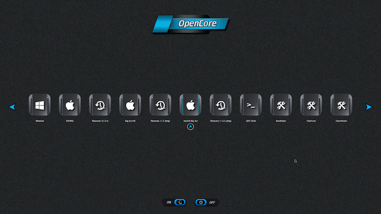 Themes Modern et Default OpenCore-0.6.6 + + + - Page 5 Boot_t10