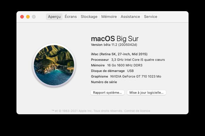 Effectuer un BackUp de macOS Big Sur 11 Capt1047