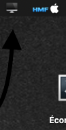 Status bar Icon Économiseur Capt1158
