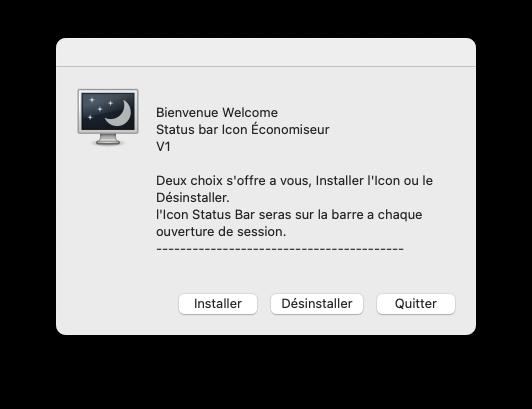 Status bar Icon Économiseur Capt1159
