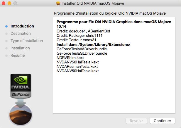 Fix Old NVIDIA macOS Mojave Captu100