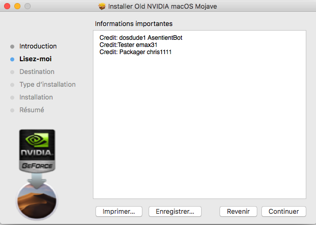 Fix Old NVIDIA macOS Mojave Captu110