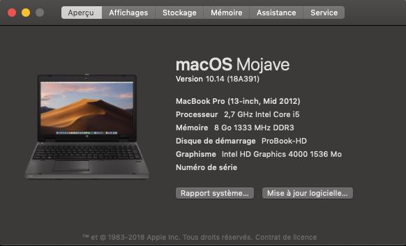 macOS Mojave Finale Release 10.14 (18A391) Captu205