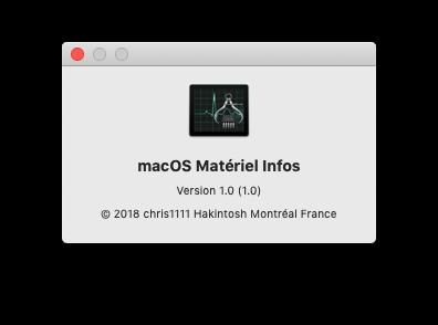 macOS Matériel Infos Captu347