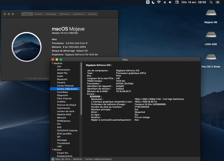 macOS Mojave 10.14.4 Finale version (18E226)  Captu602