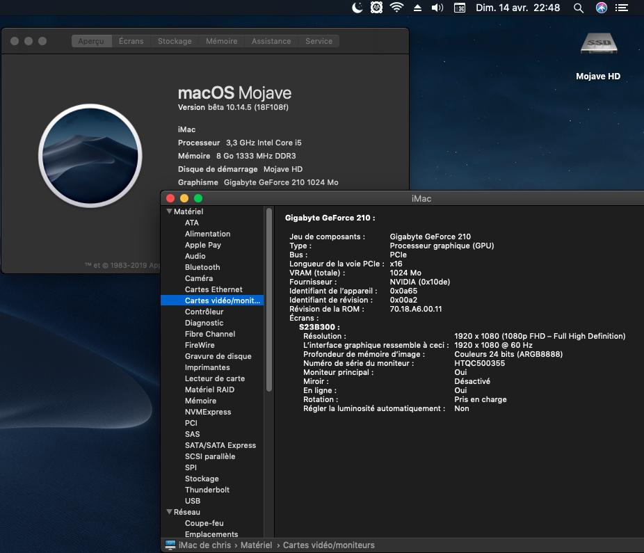 Fix Old NVIDIA macOS Mojave Captu605