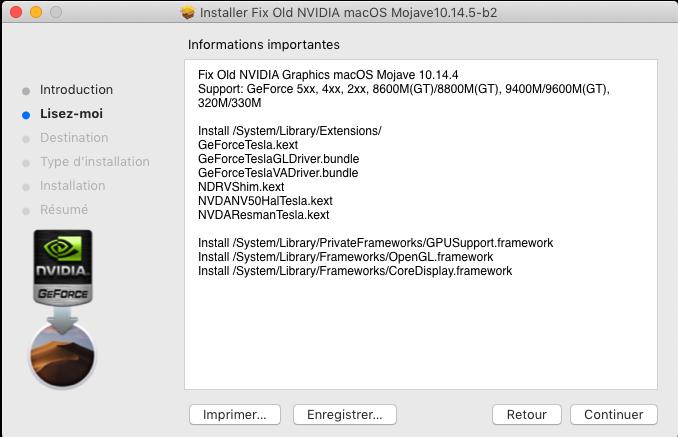 Fix Old NVIDIA macOS Mojave Captu610