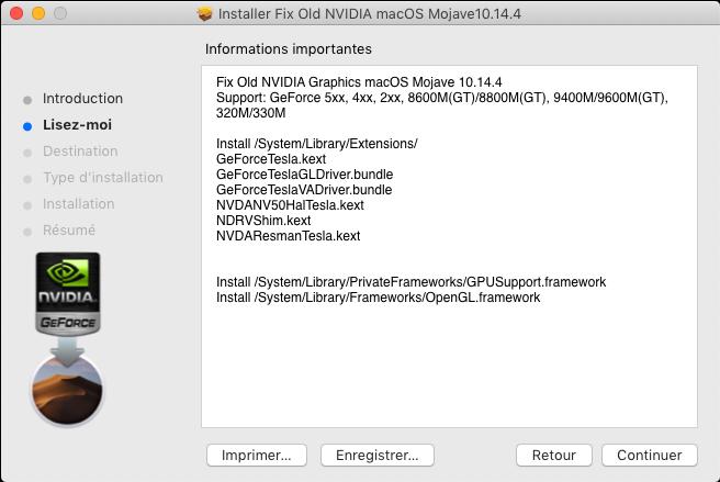 Fix Old NVIDIA macOS Mojave Captu613