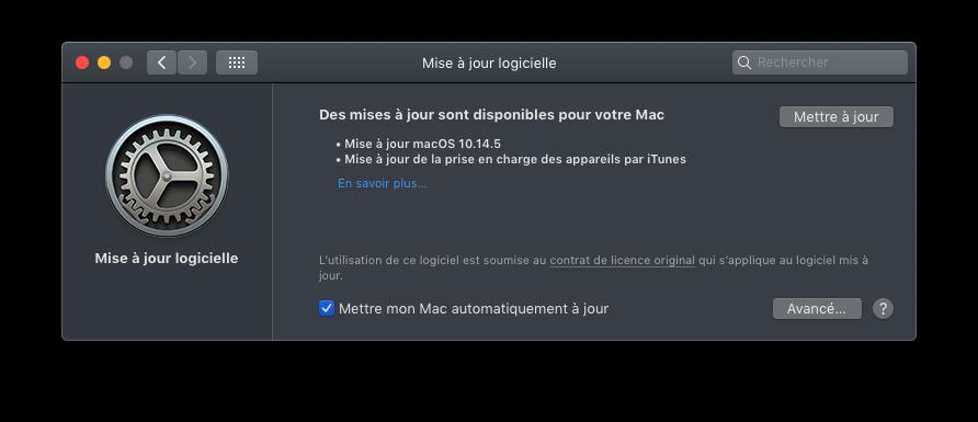 macOS Mojave 10.14.5 Finale version  (18F132 ) Captu645