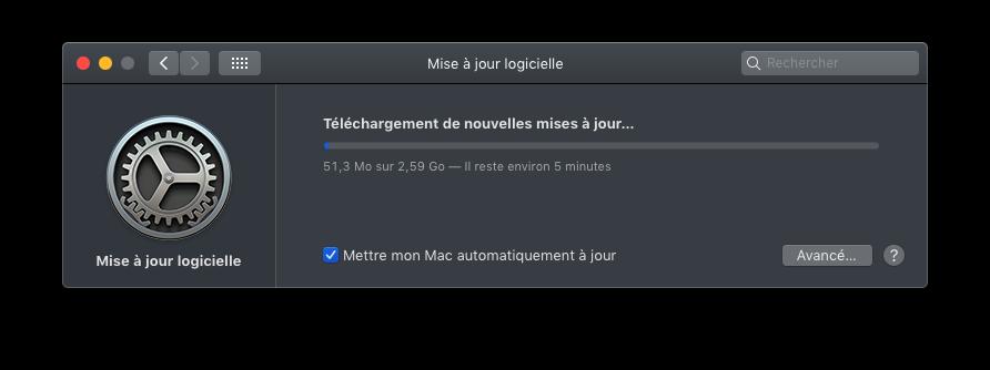macOS Mojave 10.14.5 Finale version  (18F132 ) Captu646