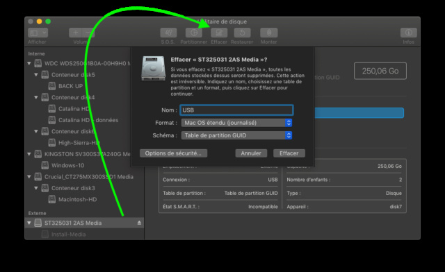 [RESOLU] SSD NVME et boot Mojave Captu704