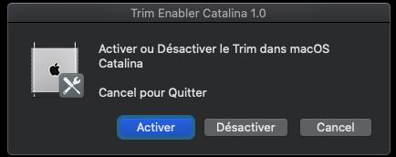 Trim Enabler pour macOS Catalina 10.15 Captu758