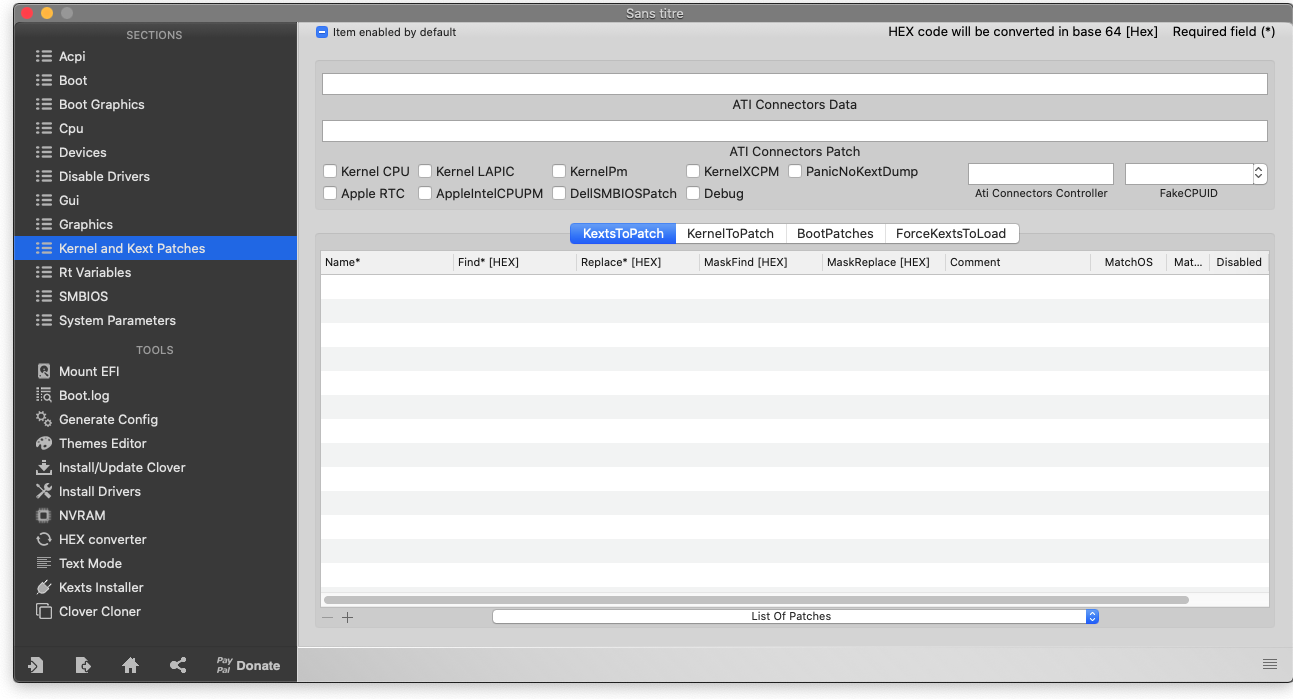 Post Install Mojave - Problème d'USB Captu882