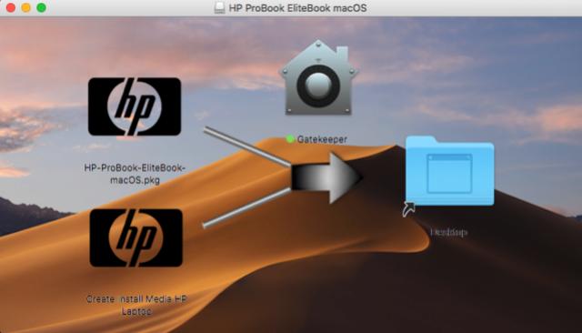 HP ProBook EliteBook macOS Captur23