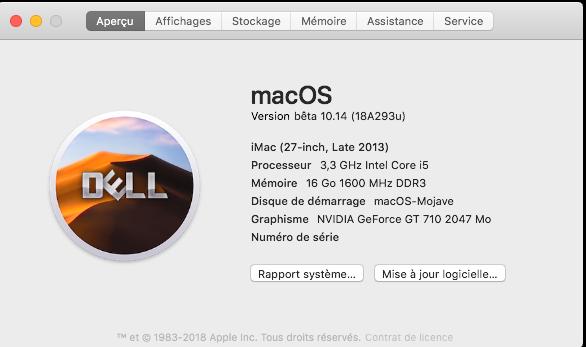 Changer le SystemLogo dans macOS Mojave Captur33