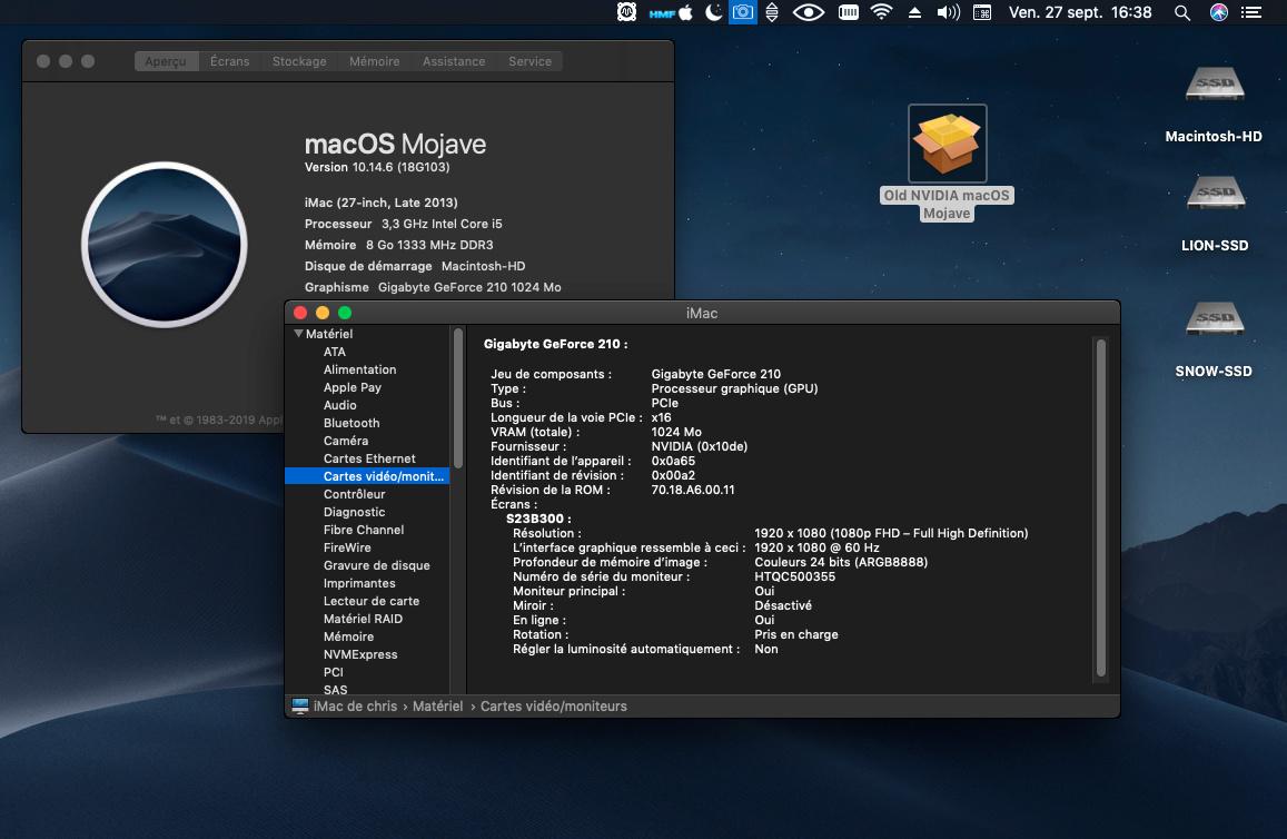 macOS Mojave 10.14.6 Mise a jour Supplémentaire (18G103) Captur36