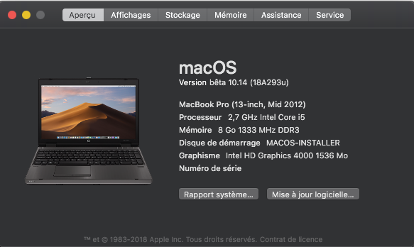 Changer le SystemLogo dans macOS Mojave Captur38