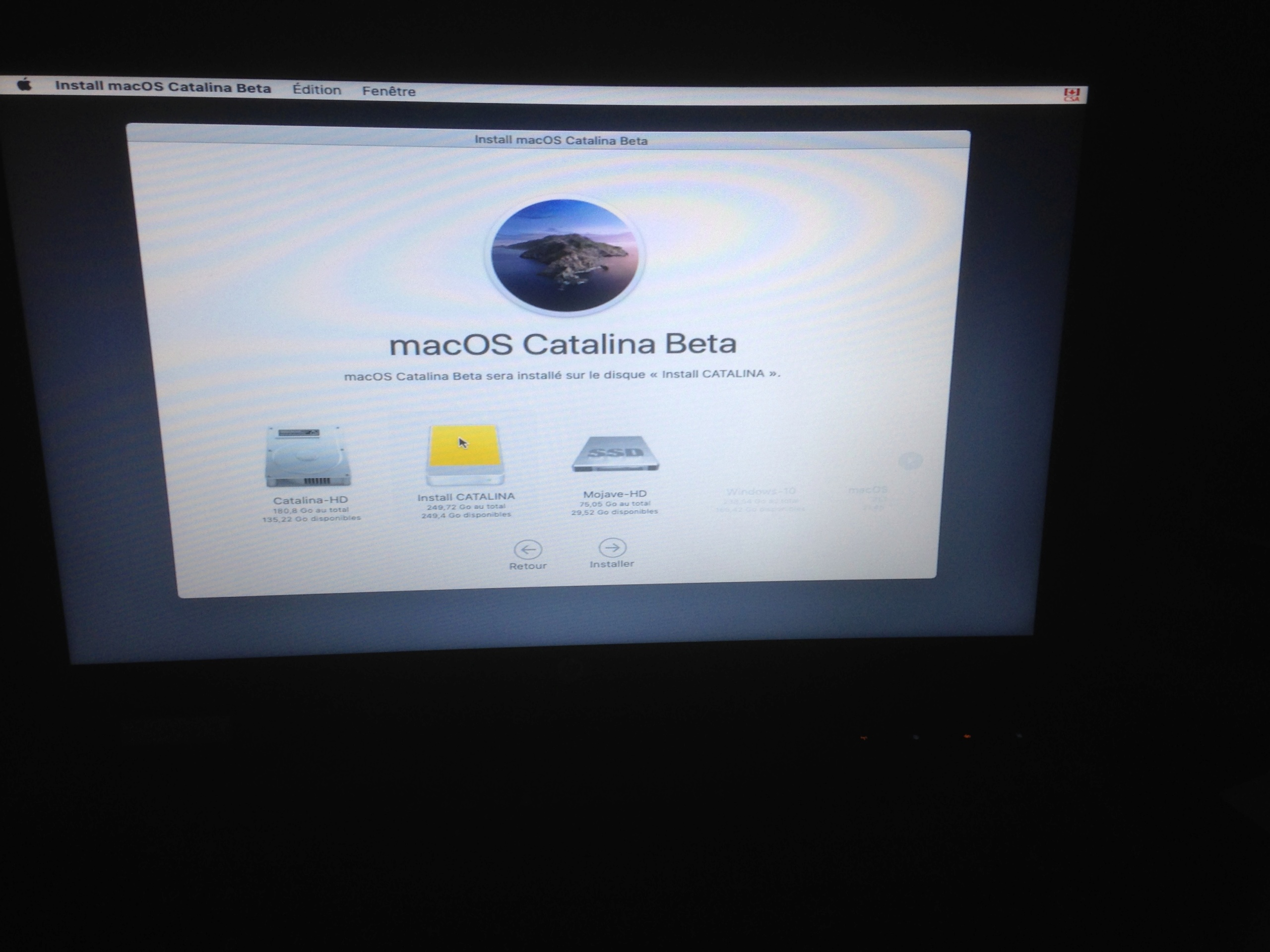 macOS Catalina USB Restore Img_1811