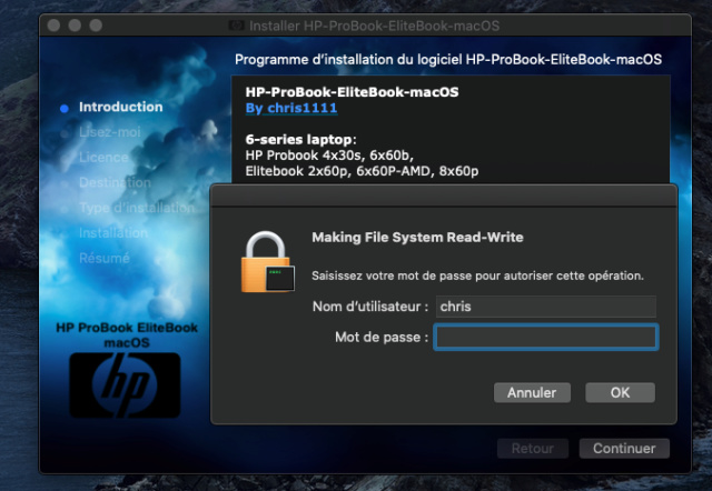 HP ProBook EliteBook macOS / HP ProBook EliteBook Package Creator - Page 2 Instal12