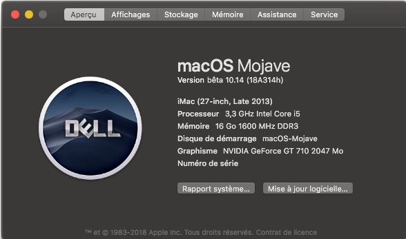 Changer le SystemLogo dans macOS Mojave Logo10