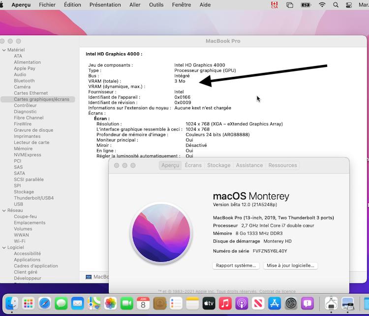 macOS Monterey 12.0 / 12.1 / 12.2 / 12.3 / 12.4 Beta Sans_t78