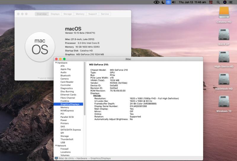 Fix Old NVIDIA macOS Catalina Scree129