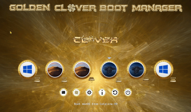 Theme Gold_clover Scree132