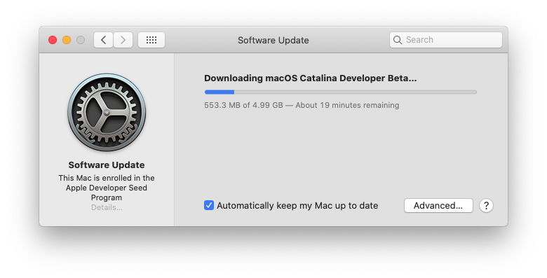 macOS Catalina 10.15 Developper Beta - Page 5 Scree134