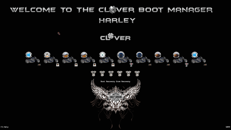 theme Clover Harley Scree139