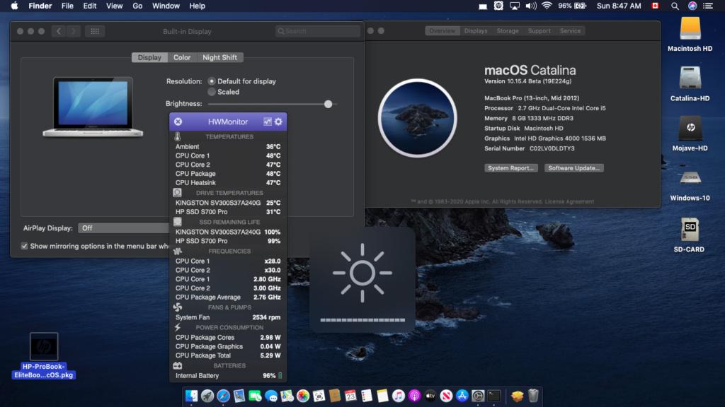 HP ProBook EliteBook macOS - Page 5 Scree143