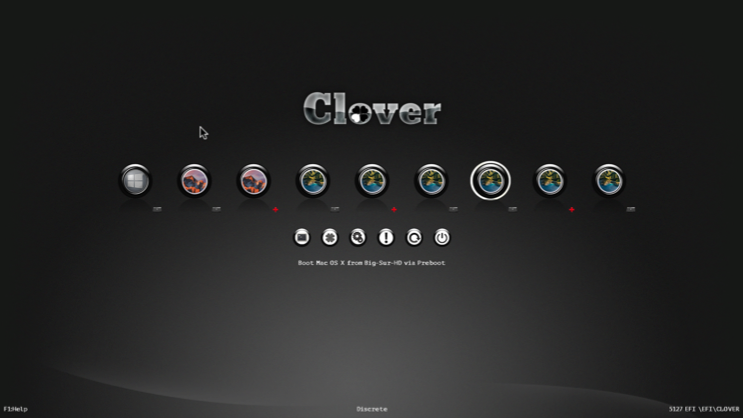 black Adapter pour Clover OC Integration Scree158