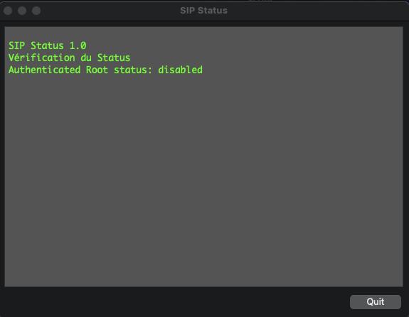 SIP Status Scree201