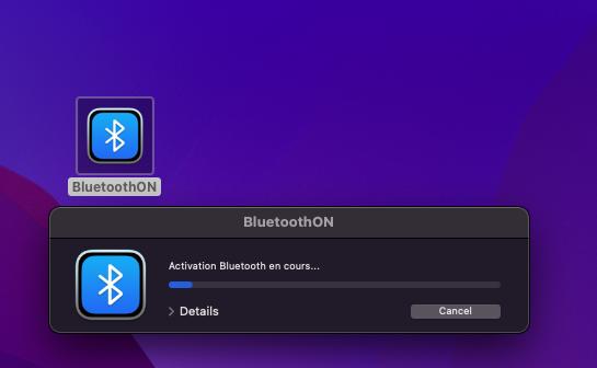BluetoothON Scree304